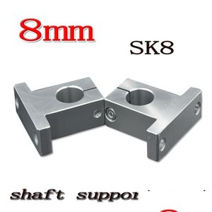 Wholesale- Sk25 Sh25a 25mm Linear Shaft Support 25mm Linear Rail Shaft Support X jllMOu dayupshop