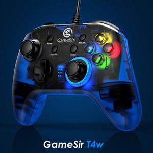 Контроллер GameSir T4W USB Проводная игры для Windows, 7/8/10 PC геймпад с вибрацией Motors и Turbo джойстиков PC