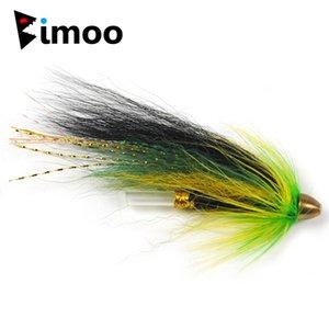 Bimoo 10pcs 5 Color Coneead Tube Flies per trota salmone e Steelhead Bait Bait Bait 201111