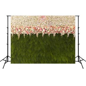 3D Rose Backdrop Pano de Casamento Partido Decoração Fundo Papel Simulado Pano para Casamento Foto Studio Hha1044 51 J2