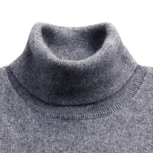 Turtleneck Men Cashmere Blend Pullover Jumper 2021 Autumn Winter Vetement Homme Ropa Hombre Pull Homme Hiver Sweater