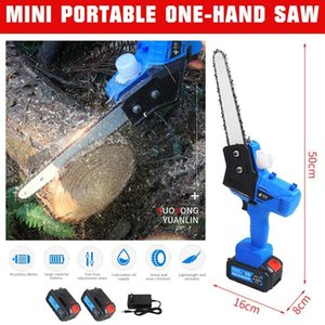 7 inch Chainsaws US EU AU Plug Mini Portable One-Hand Saw Woodworking Electric Chain Saw Wood Cutter New Garden Power Tools 550W