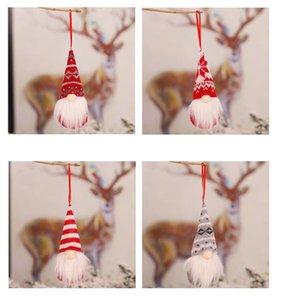 HBP Рождественские украшения вязаные шерстяные лесные мужчины кукла шарм безликая кукла елочные украшения кулон красивый и популярный стиль