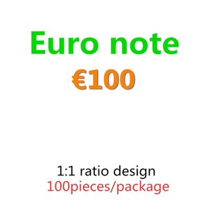 Wholesale 20 Bar Money Prop Billet Money 100 Movie 10 Faux Billet Euro Fake Nightclub 50 Atmosphere Euro Play Money 02 Rqhum