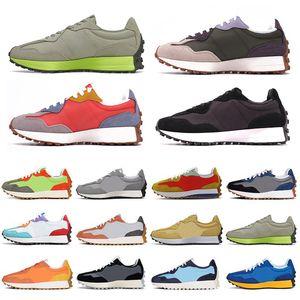 توازن جديد 327 NB 327 أزياء رجالي احذية الجري فخر كيب نيو لهب المشي خمر النساء الرجال المدرب في الهواء الطلق أحذية رياضية 36-45