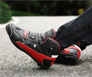 Motorcycle riding shoes for men and women four seasons off-road motorcycle boots racing boots motorcycle brigade equipment lovers