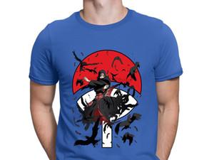 Uciha Itachi con estilo Diseño de ropa de la aptitud del ocio para los hombres verano cómico Anlarach Fit diseñadores de camisetas con capucha sudadera