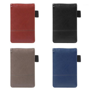 Pocket A7 Notebook Leather Cover Notepad Memo Diary Planner With Calculator Business Work Office Supplies1