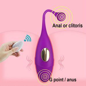 Women Invisible Wearable Dildo Vibrator Panties Vibrating Balls Wireless Remote Control G Spot Clitoris Stimulator Sex toys
