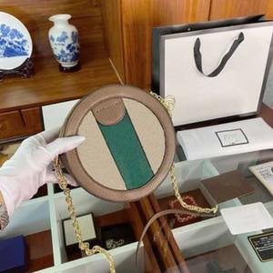 Bolso redondo de moda para mujeres Viajes Bolsos de lujo Bolsos de mujer Diseñador Cadena Monedero Socialita Moda Bolsa de hombro y bolsas de cruz