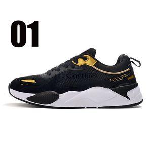 2021 new treeperi fashion chunky 2.0 running shoes black metallic gold US 7 EUR 40 for men sneakers