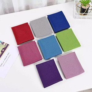 Ice Cold Towels Summer Cooling Sunstroke Sports Exercise Towels Cooler Running Towels Quick Dry Soft Breathable Towel