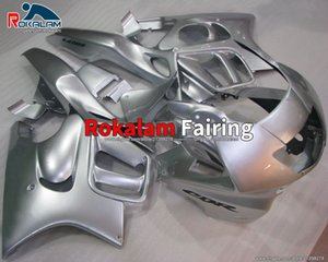 Sports Fairing Kits For Honda CBR600 F3 1997 1998 CBR 600 F3 97 98 Full Silver Motorcycle Fairings (Injection Molding)