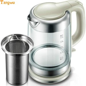 Free shipping Electric kettle automatically without electricity Glass