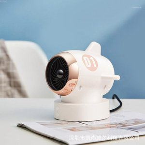 AC 220V New Mini Aircraft Desktoop Electric Haterter Swing Silent Electric Haterter Mute Creative Home Office Gifts1