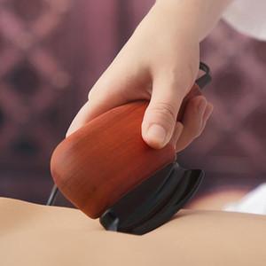 Stone Needle Electric Heating Scraping Massage Plate Neck And Shoulder Dredge Meridians Gua Sha Board Anti Cellulite Scraper
