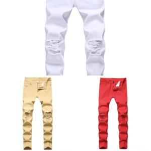 4YXH Neue Business Herren Klassische Denim Jeans Schwarze Sommer Slim Thin Fit Hosen Hohe Stretch Mode Mark Skinny Jeans Männchen