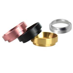 Dosing Funnel Aluminum Smart Dosing Ring For Mug Coffee Powder Tool Espresso Barista For 51 54 58MM Coffee Filter Tamper BWF2550