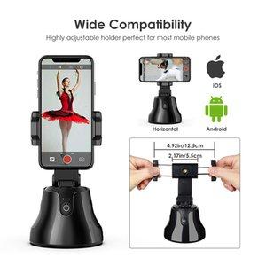 All-In-One Smart Auto selfie Tir Bâton 360 Face Tracking Rotation automatique avec suivi Caméra Téléphone Portable Mont Holder