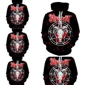 yE71P рок американская группа Slipknot волны металла рок-памятная 3D SlipKnot новый американский 2020 диапазона новой волны металл 2020 Толстовка пот sweatersw