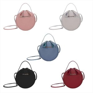 Women Leather Round Shape Handbag Shoulder Lady Crossbody Bag Tote Messenger Satchel Purse Fashion New