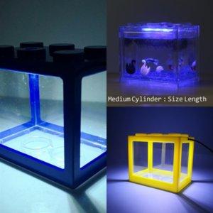 3atad Xsky Свадебный аккумулятор ландшафтный оперированный погружной светодиодный свет Многоцветные рыбные рыбы водонагревательные огни лампы для легких блоков LEGO