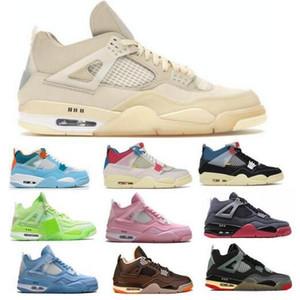 Jumpman 4 4S парусник баскетбол обувь мужской союз от Noir Guava Ice Scarpe 2021 новое поступление женщин Hommes Red Tenis Trainer кроссовки обувь