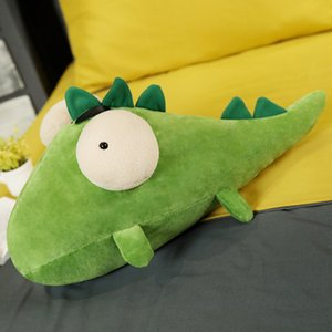 1pcs 25 65cm Crocodile doll net red plush toy bed to sleep with you Cuddly pillow doll doll lovely girl present couple