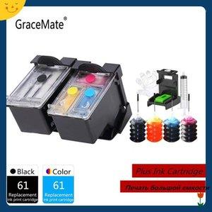 Ink Cartridges Compatible Refillable Cartridge Easy Refill For Deskjet 1000 1050 1055 2050 2512 2540 3050 Envy 5530 45001