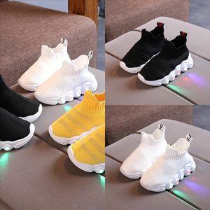 DHD3 Scarpe per bambini Genuine LBJ 15 Scarpe da bambina per bambini Scarpe in pelle per mocassini ragazze con pelliccia inverno moda sneakers per bambini piselli casual