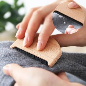 Portátil de madeira Depilador camisola Roupa Shaver tecido roupas camisola Lint removedores manual portátil de madeira Cabelo Roupa escova DHL grátis