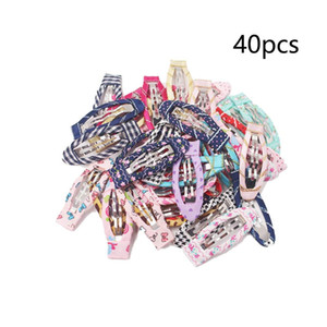 PCS Baby Girls Hair Clips Inch No Slip Snap Hair Clips Wrapped Hair Barrettes Accessories for Toddlers Infants Kids Chil