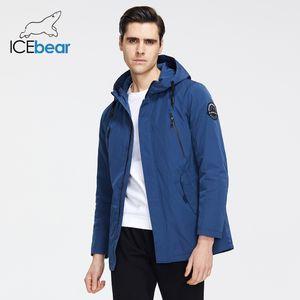 İcebear Yeni Erkek Ceket Kalite Erkek Ceket Erkek Kapşonlu Coat Casual Erkek Giyim MWC20823I 201109