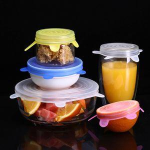 Keeping in silicone Stretch coperchi riutilizzabile Fresh Wrap universale Seal coperchio di sicurezza in lavastoviglie forno a microonde e freezer