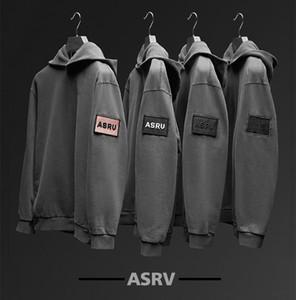 ASRV رجل siksilk الملابس مقنع بلوزات مصمم هوديي high street طباعة هوديي البلوز الشتاء سوياتشيرتس cp topstoney