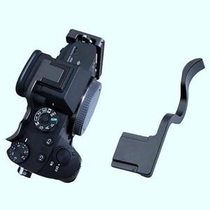 1 Pcs Thumb Grip main Sabot couvercle en boucle Support poignée 1 Pcs Aluminium vertical L Support de trépied