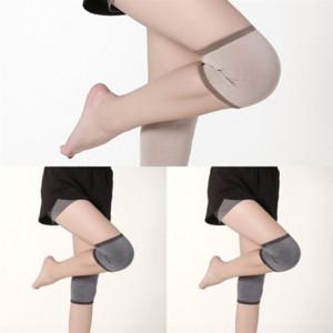 Oqnp Crashproof joelho almofadas AntiSlip joelho almofada ao ar livre basquete sólido esportes longos esporte protetor perna honeycomb knee acidente