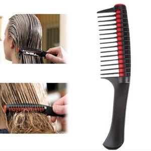 Profesional ancho diente peine peine tinte para el cabello colorante Deambleling Combs Cepillo Styling Barber Tools Salon Accesorios