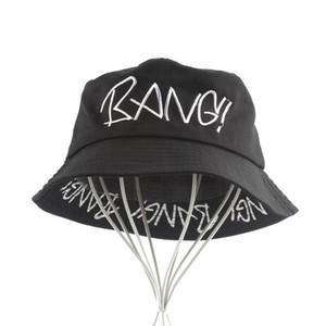 FURANDOWN 2020 verano moda unisex del sombrero del cubo Hombres Mujeres Hip Hop Pesca Cap Sombrero Bob encabezamiento