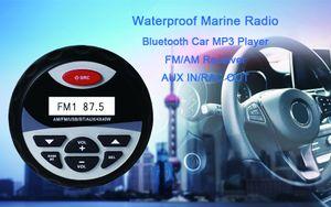 FreeShipping 100W 4 inch Marine Waterproof Bluetooth Box Speakers Compact Audio Stereo Sound System Speaker For car Boat Golf Cart ATV UTV
