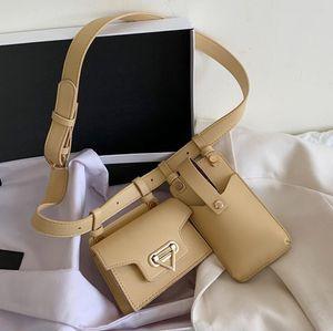 Ins Women Chest Bag Girls Waist Bag Versatile Fashion One Shoulder Phone Bags Crossbody Lady Belt Waist