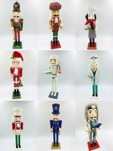 painting Special color price log many kinds of nutcracker puppet Christmas tree hanging ornament for children
