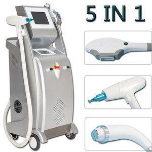 2020 OPT SHR Laser SALON EQUIPO ELIGHT RF Skin Care Opt SHRABAZIONE LASER Eliminación de cabello Máquina de belleza 3 Manijas