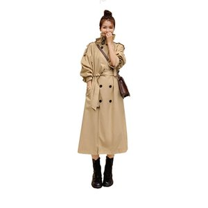 Женщины Mid-The Leange Over-The Trench Trench M469 1031