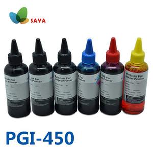 6x100ml PGI450 CLI451 stampante Ink Refill Kits CISS Bulk Ink per Canon Pixma MG6340 MG7140 IP8740 Stampanti PGI-450 PBK B C M Y GY