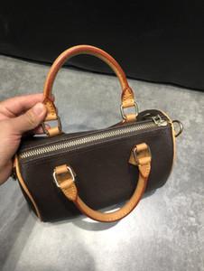 TOP. M41112 SPDY BANDOULIERE NANO 25 30 35 Designer Womens TOTE Top Handle Shoulder Cross Body Bag Canvas Handbag Mini Pochette Accessoires