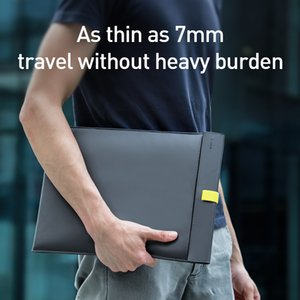 Baseus Laptop Sleeve Bag Case for Macbook Air Pro 13 14 15 16 Super Thin Double-layer Computer Liner Bag Case for Dell Lenovo 201006