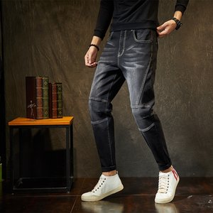 rAkYa Fattening dehnbar business casual Jeans und jeansUnderpants und Jeans Höschen Hosen der Männer Fett dicke, fette Mann pp730 rpn8X
