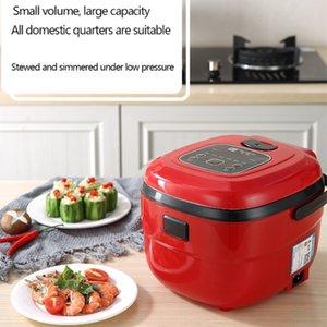 Family Electric Rice Fogel 2.5L Capacidade Multicooker Cozinha de arroz Ajustável Cozinha para 4-5 Pessoa 8 Funções