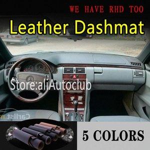 Deri Dashmat Pano Kapak Pad Dash Mat Güneşlik Araç Halı İçin E Classw220 E280 E300 E400 1996 2003 Araç Aksesuarları Araç Acc C38s # Soğuk
